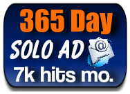 365 DAY MEGA SOLO AD-$49.99-7K HITS A MONTH!!
